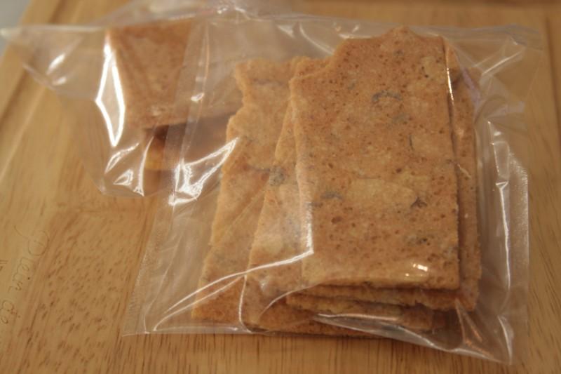 薄焼きアーモンドクッキー
